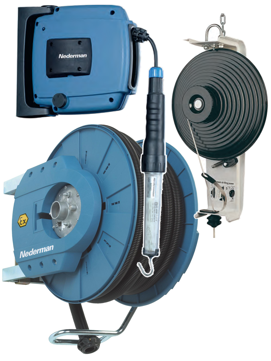 Hose Reels, Cable Reels and Balancers